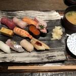 寿司の磯松 - 磯松握り 1,500円