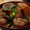 天ぷら 大吉 - 料理写真:アサリの味噌汁。