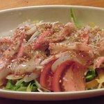 Tomiya - 白いかとかにのサラダ