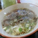 猪肉・鹿肉 梅本商店 - 二代目イノシシラーメン