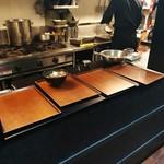 立ち食い蕎麦二五十 - 配膳台