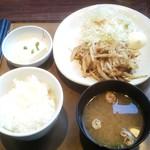 やよい軒 - 生姜焼き定食630円