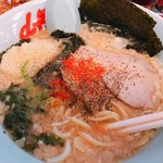 山岡家山形西田店 - 醤油ラーメン改