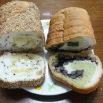 10091132 - とっても美味しいロールパン2種