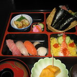 やよい鮨 - ランチ すし御膳 1680円
