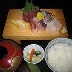 やよい鮨 - ランチ 刺身定食 990円