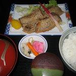 やよい鮨 - ランチ まぐろ味噌焼定食 900円