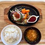 かすみキッチン - 蓮根豚ハンバーグ