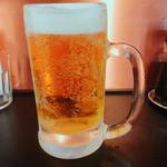 麺屋 宗 - ビール中ジョッキ¥350  (^3^)ぷしゅー♪