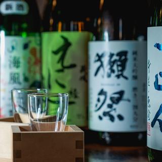 【日本酒との出会い】40種の日本酒飲み放題とプレミアム隠し酒