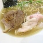 日本橋麺処こはる - 肉部隊・旨い♪