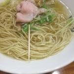 日本橋麺処こはる - 麺の細さサイズ