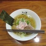 日本橋麺処こはる - 塩らぁめん 丼径