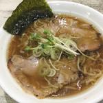 手打ち中華そば 侍 - 新味(鶏+魚介) 690円(2019/1/27)