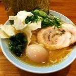 ゆき坊 - 料理写真:ラーメン(豚骨醤油)¥750、味玉¥100