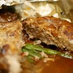 つばめグリル - 料理写真:ハンブルグステーキ