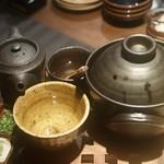 俵家商店 マルコメ - ◆サーモンといくらの土鍋炊きご飯 1,680円(税別)