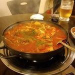 美愛 - カムジャタン(韓国じゃがいも鍋)♪一度食べたらハマります!!