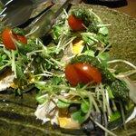 鈴や - コース3「魚のポワレ バジルソース」