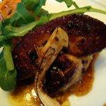創作会席 嵯峨旅籠屋 - 2011/10 仏産フォアグラと大根トリュフソース松茸を添えて
