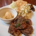 ステーキてっぺい×六本木Buff - ハラミステーキ&サラダ