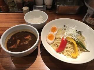 めん徳 二代目 つじ田 新橋店 - カレーつけ麺