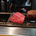 かるびあーの - 塊焼き(黒毛和牛イチボ)