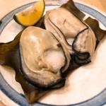 寿し 太一 - 昆布森の焼き牡蠣