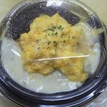 手づくりの店 お弁当・お惣菜 たかはし - 料理写真:ダブルソースのオムライス298円(ホワイト・デミグラソース♪)