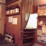 京の坦々麺と鉄板居酒屋 四条 竹 - 店内、やっぱりレトロですな