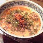 京の坦々麺と鉄板居酒屋 四条 竹 - 坦々麺