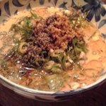 京の坦々麺と鉄板居酒屋 四条 竹 - ごま味噌麺