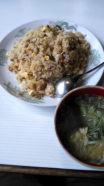 中国料理カレント - カレントさんの納豆チャーハン!
