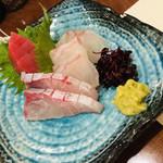 100935557 - お造りもなかなか美味です(о´∀`о)やっぱり、旬のお魚は美味しいですね!
