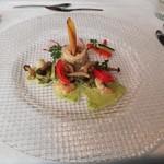 レストラン三星 - 料理写真:①前菜