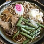 銀泉茶屋 - 山菜そば
