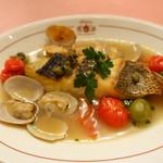 ピッツェリア・サバティーニ - 長崎直送鮮魚のアクアパッツァ