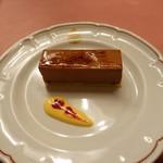 ピッツェリア・サバティーニ - ベルギー産チョコの自家製ムースチョコラート