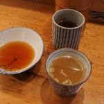 やき鳥 宮川 - スープと酢