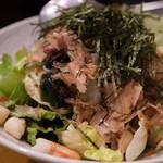 牡蠣海鮮料理 かき家 こだはる - 海の幸サラダ