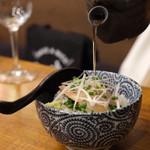 牡蠣海鮮料理 かき家 こだはる - 鯛こぶ茶漬け