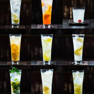 8種+1種のレモンサワー