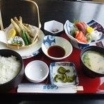 いわき七浜料理 まるかつ - 目光定食うまかった・・・(震災数日前)