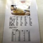 100940485 - 麺量表