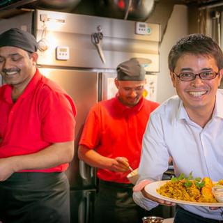 腕に磨きをかけ魅力を増したインド&ネパール料理をお楽しみあれ