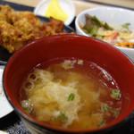 ドライブイン鳥 - 鳥スープです。