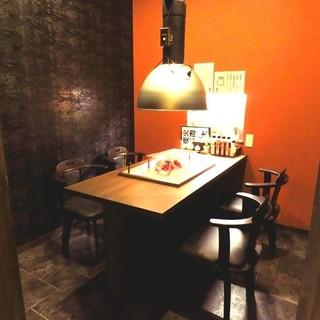2階には完全個室をご用意しております!