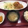 世田谷区役所 食堂 - 料理写真:B定食530円は味が濃い。小鉢は三種から選べた。