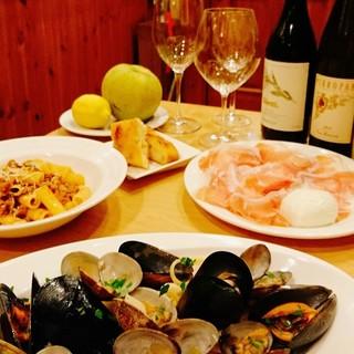 海の幸・山の幸を生かす『南イタリア・北イタリア』の郷土料理