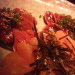 宮崎地鶏と鍋の酒処じどりーにょ - レバー、ささみ、砂肝